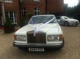 Rolls Royce wedding car in Camberley